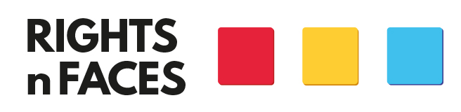 Rights n Faces Retina Logo